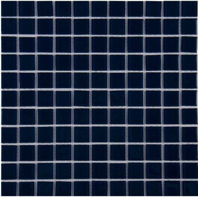 Мозаика для бассейна стеклянная Aquaviva Сristall темный кобальт LM60