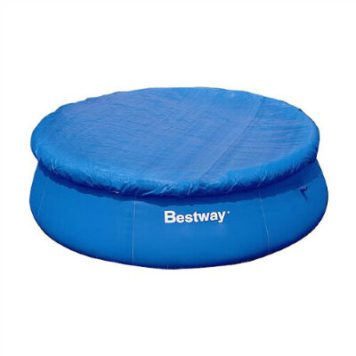 Тент для надувного бассейна диаметром до 2.44 м (d 267 см), Bestway 58032
