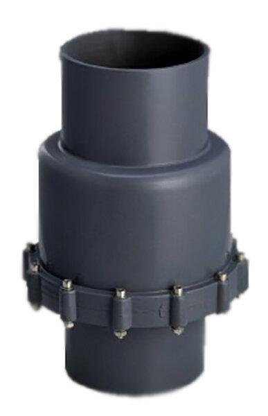 Обрат.клапан мембранный ПВХ 1,0 МПа d.75мм