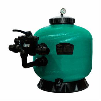 Фильтр Pool King д 750 мм, 21 м3/ч с боковым подключением/KS750
