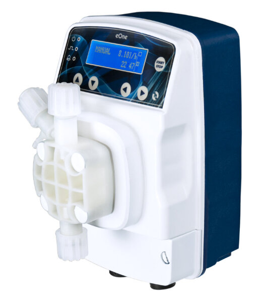 Мембранный дозир. насос Etatron eONE PLUS 15 л/ч, 5 бар, 100/250V PVDF TFE/P