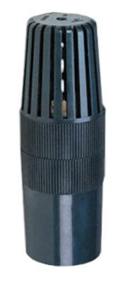 Обрат.клапан с фильтром грубой очистки ПВХ 1,0 МПа d.40мм