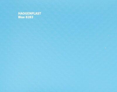 "Пленка ПВХ 2,05х25 м ""Haogenplast Unicolors"" Blue, синий /8283"