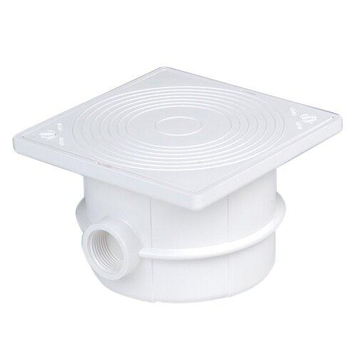 Коробка распаячная ABS-пластик Astralpools, 133.5х133.5х85