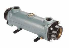 Теплообменник BOWMAN 160кВт, трубки  купроникель
